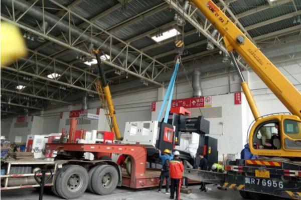 北京机床展设备及精密配件运输